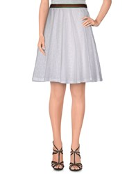 Alice San Diego Skirts Knee Length Skirts Women White