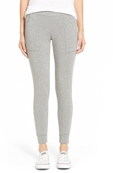 Stateside Fleece Leggings Heather Grey
