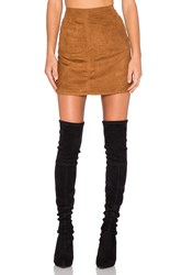 Sanctuary Mod Skirt Brown