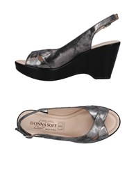 Donna Soft Sandals Lead