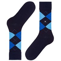 Burlington Manchester Argyle Short Socks One Size Navy