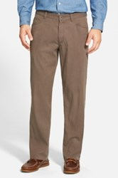 Tommy Bahama 'Collins' Straight Leg Pants Brown