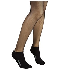 Bootights Netscape Micro Fishnet Ankle Sock Black Hose