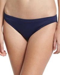 Vince Camuto Classic Solid Swim Bottom Navy