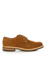 Cheaney Meadway R Suede Derby Shoes Tan