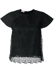 Giamba Lace Front Top Black