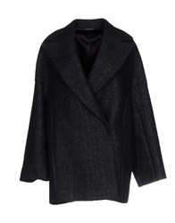 Tonello Coats Dark Blue