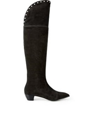 Marc By Marc Jacobs True Rebel Lula Over The Knee Boots Black