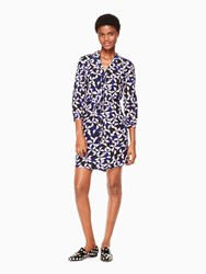 Kate Spade Spinner Shirtdress Nightlife Blue