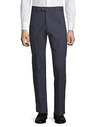 Paul And Shark Stretch Cotton Trousers Blue