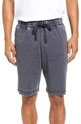 Daniel Buchler Men's Washed Cotton Blend Terry Lounge Shorts