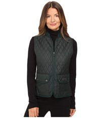 Belstaff Wickford Lightweight Technical Quilt Vest British Racing Green Women's Vest