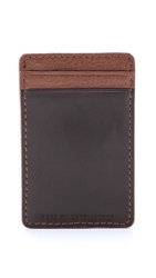 Marc By Marc Jacobs Classic Card Holder Redwood Multi