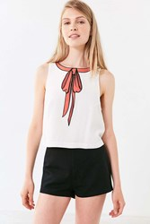Cooperative Bow Tastic Tank Top Ivory