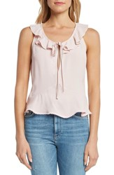 Willow And Clay Peplum Camisole Ballet