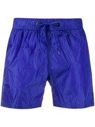 Rrd Elasticated Waist Swim Shorts Blue