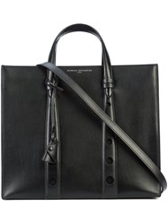 Myriam Schaefer Classic Tote Bag Leather Black