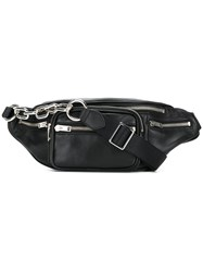 Alexander Wang Padlock Belt Bag Black