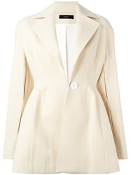 Ellery Flared Jacket Nude Neutrals