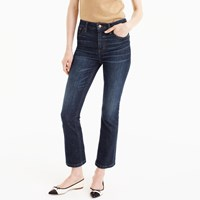 J.Crew Petite Billie Demi Boot Crop Jean In Koby Wash