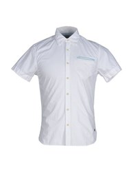 Scotch And Soda Shirts Shirts Men White