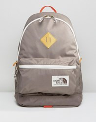 The North Face Berkeley Backpack In Gray Gray