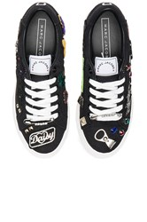 Marc Jacobs Empire Lace Up Sneaker Black