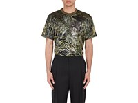 Givenchy Men's Coated T Shirt Dark Green
