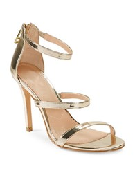 Charles By Charles David Ria High Heel Strappy Sandal Gold