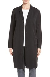 Eileen Fisher Women's Long Tencel Twill Jacket