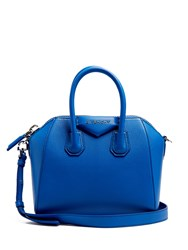 Givenchy Antigona Mini Leather Cross Body Bag Blue