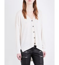 The Kooples Flower Button Knitted Cardigan Ecr01