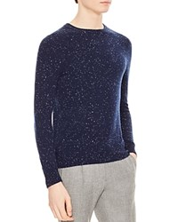 Sandro Fleck Sweater Navy Blue