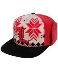 Top Of The World Louisville Cardinals Christmas Sweater Strapback Cap