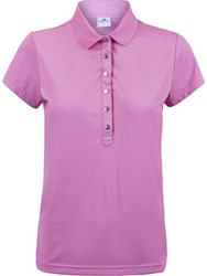 Daily Sports Mindy Short Sleeved Polo Shirt Pink