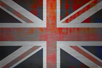 Parvez Taj Union Jack On Aluminum Wall Art