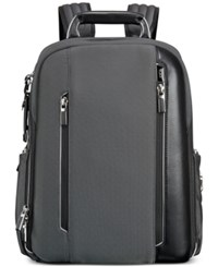 Tumi Men's Arrive Logan Backpack Pewter