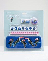 Paperchase Toucan Stationery Set Multi