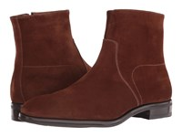 Gravati Size Zip Plain Toe Suede Boot Tan Men's Boots