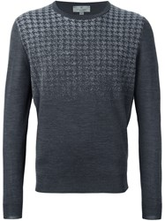 Canali Gradient Effect Jumper Grey