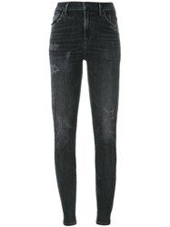 Citizens Of Humanity High Waisted Skinny Jeans Grey