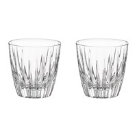 Vista Alegre Fantasy Old Fashion Glass Set Of 2