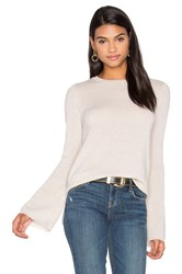 Autumn Cashmere Bell Sleeve Sweater Beige