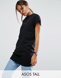 Asos Tall The Ultimate Easy Longline T Shirt Black