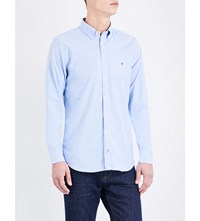 Tommy Hilfiger Slim Fit Cotton Shirt Shirt Blue