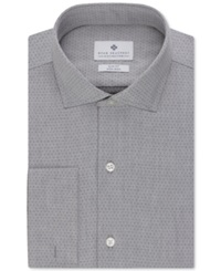 Ryan Seacrest Distinction Slim Fit Non Iron Black Dobby Dot Dress Shirt Only At Macy's