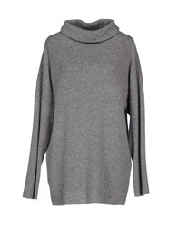 Terre Alte Turtlenecks Grey