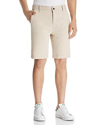 7 For All Mankind Twill Chino Shorts White Onyx