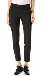 Veronica Beard Slim Cigarette Pants Black
