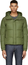 Colmar Green Hooded Puffer Jacket
